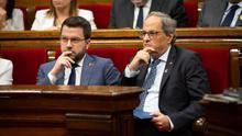 ERC y la CUP rechazan la idea de Torra de volver a hacer un referéndum antes de acabar la legislatura