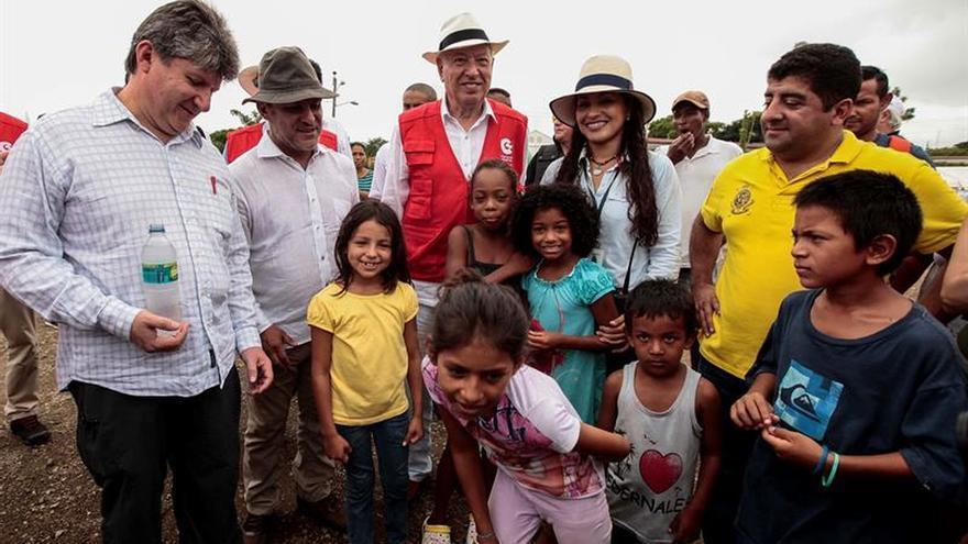 El ministro español de Asuntos Exteriores apela a la rapidez en la ayuda para Ecuador
