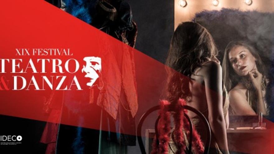 Cartel del XIX Festival de Teatro y Danza de Adeje