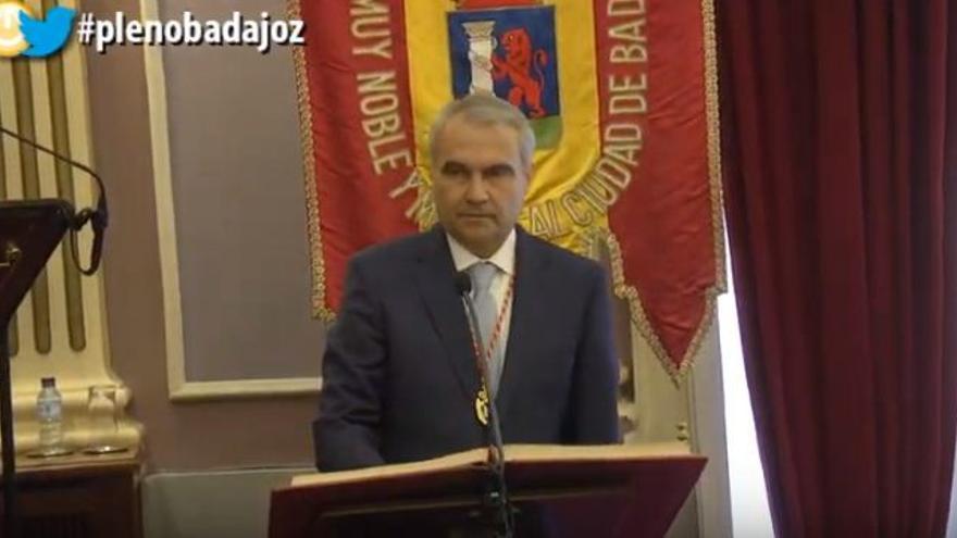 Francisco Fragoso alcalde Badajoz