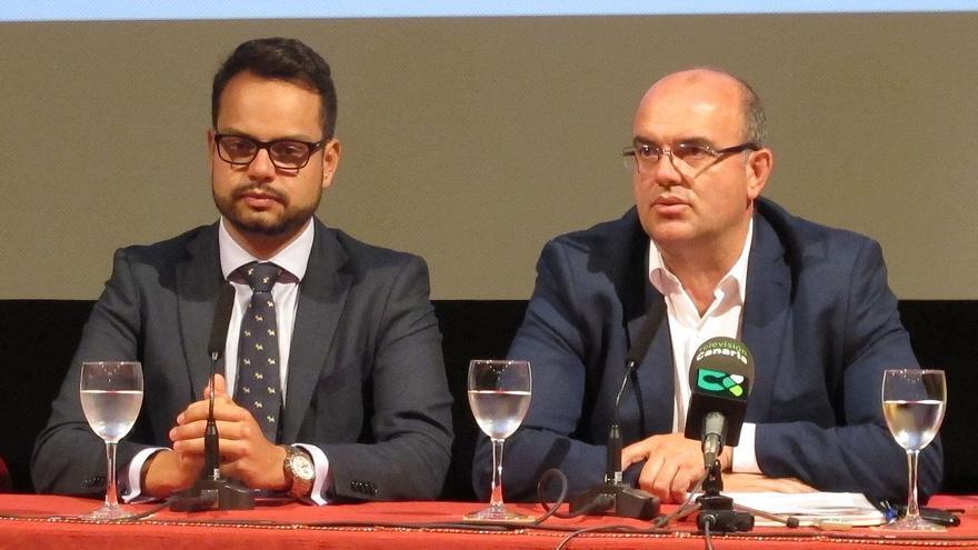 Jordi Pérez (i) y Anselmo Pestana.