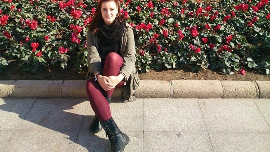 María Alcázar, estudiante de último curso de Periodismo