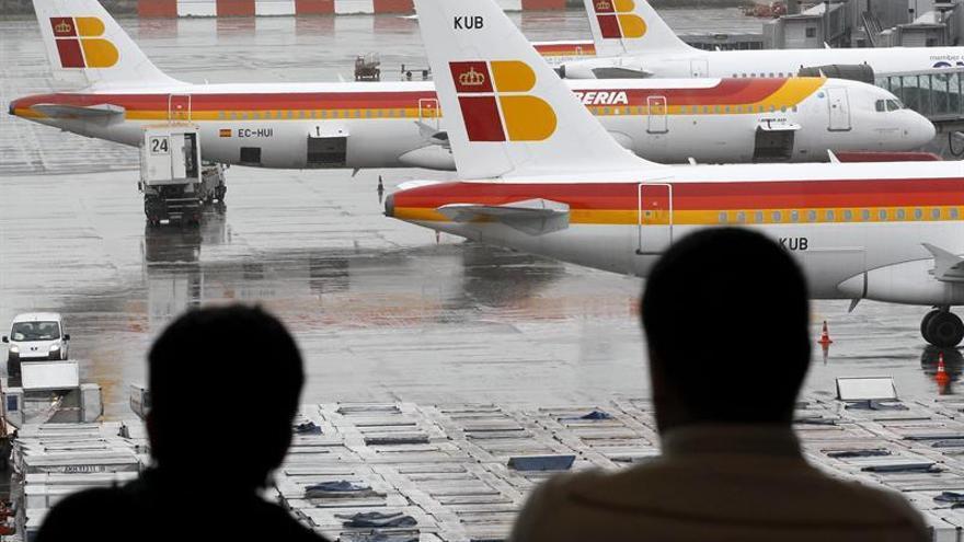 El comité de empresa de Iberia convoca huelga en El Prat entre el 21 y el 24 diciembre