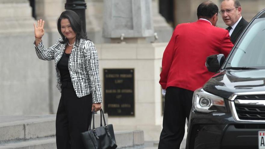 Kuczynski y Keiko Fujimori dialogaron sobre corrupción y la economía peruana