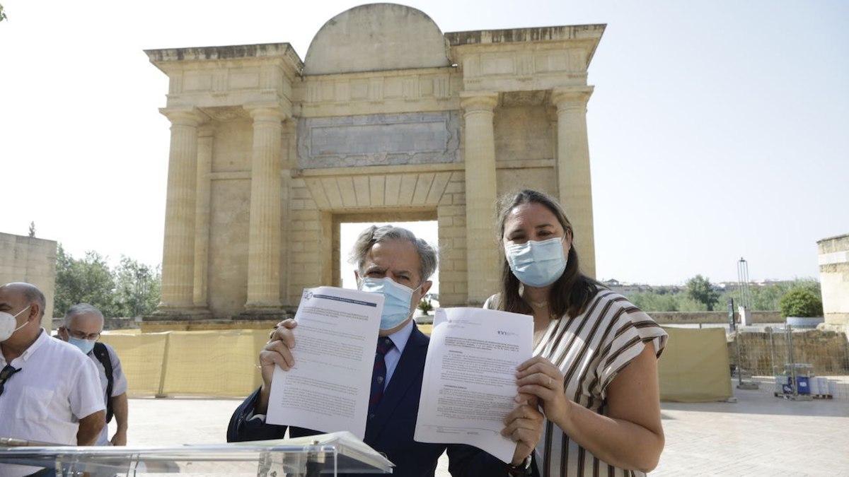 Presentación de las alegaciones contra el anteproyecto de ley de patrimonio