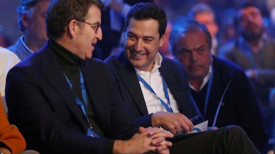 Moreno reconoce que el PP-A es ahora más significativo en el partido
