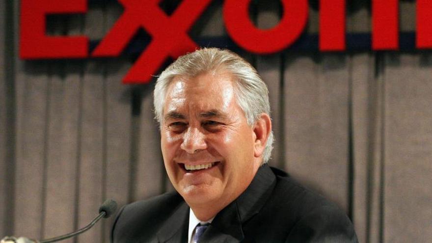 Rex Tillerson, actual Secretario de Estado, fue presidente de ExxonMobil entre 2006 y 2016