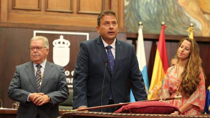 Luis Ibarra, consejero del PSOE. (ALEJANDRO RAMOS)