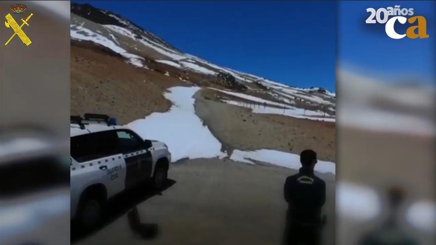 La Guardia Civil vigila el Norte de la Isla con ayuda de drones