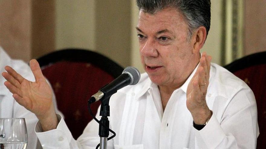 Santos invita a los colombianos a reconciliarse en un mensaje por la llegada del papa