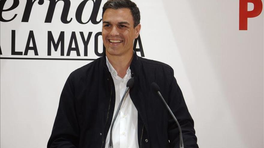 Pedro Sánchez asegura que está al alcance de la mano ganar las elecciones