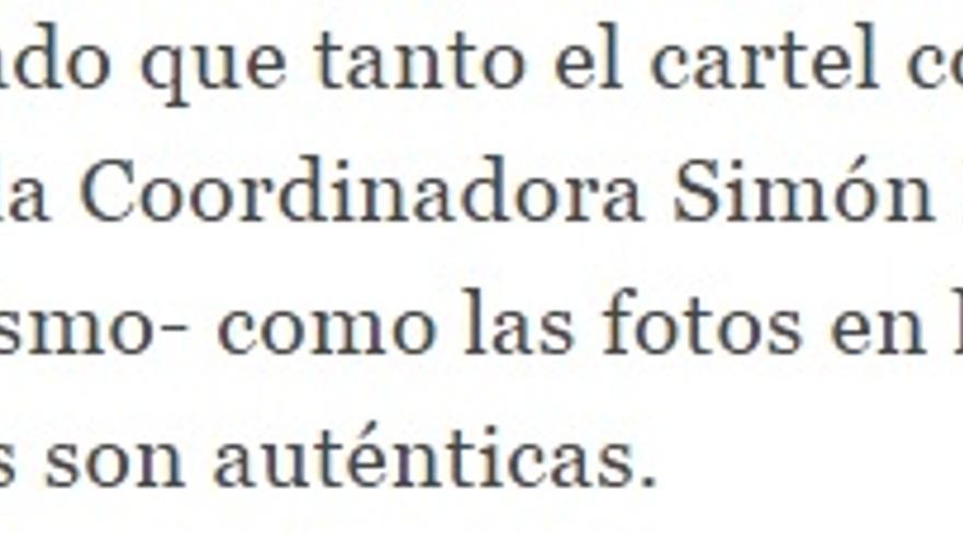 Información de El Español.
