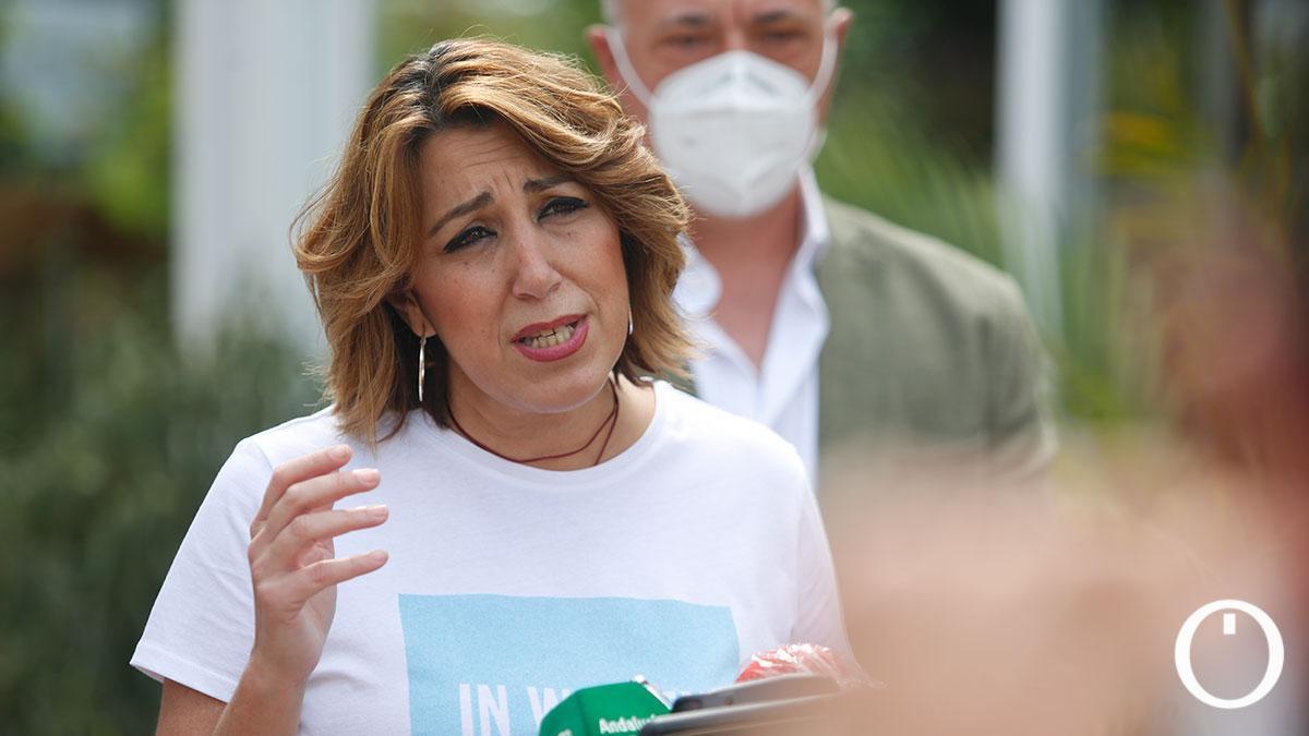 Susana Díaz, en Córdoba