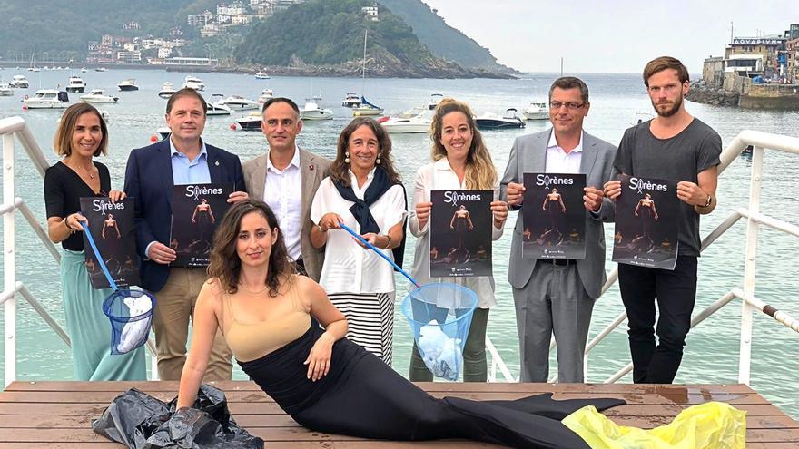 El proyecto transfronterizo 'Sirenas' conciencia a través de la danza a 1.500 jóvenes sobre los plásticos en los océanos
