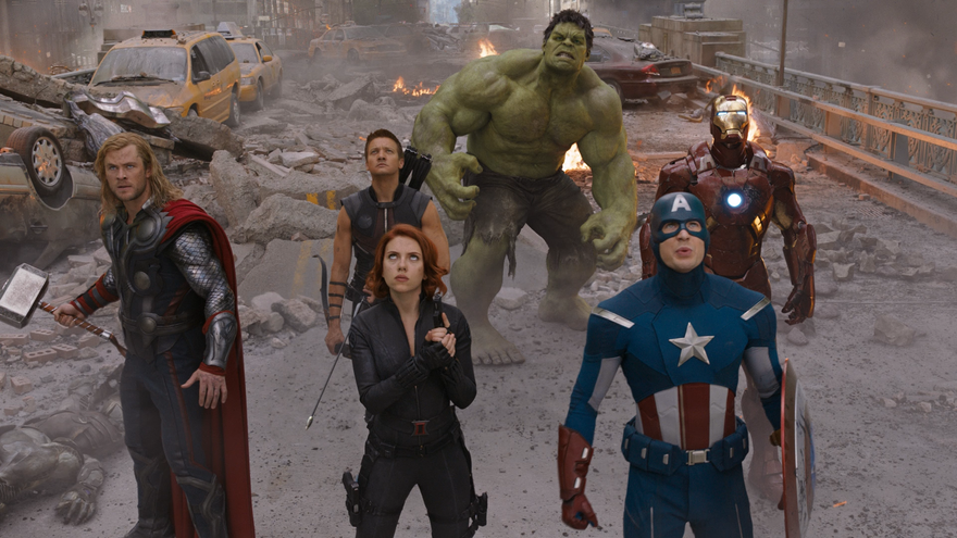 Marvel, Los Vengadores (película)