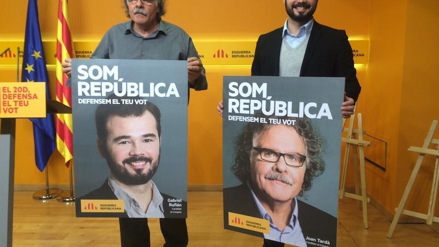 """ERC presenta una candidatura """"transversal"""" para defender el resultado del 27S"""