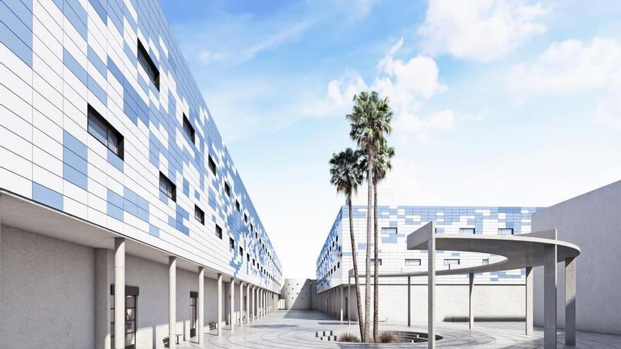 Imagen del proyecto piloto del nuevo CIE de Algeciras.