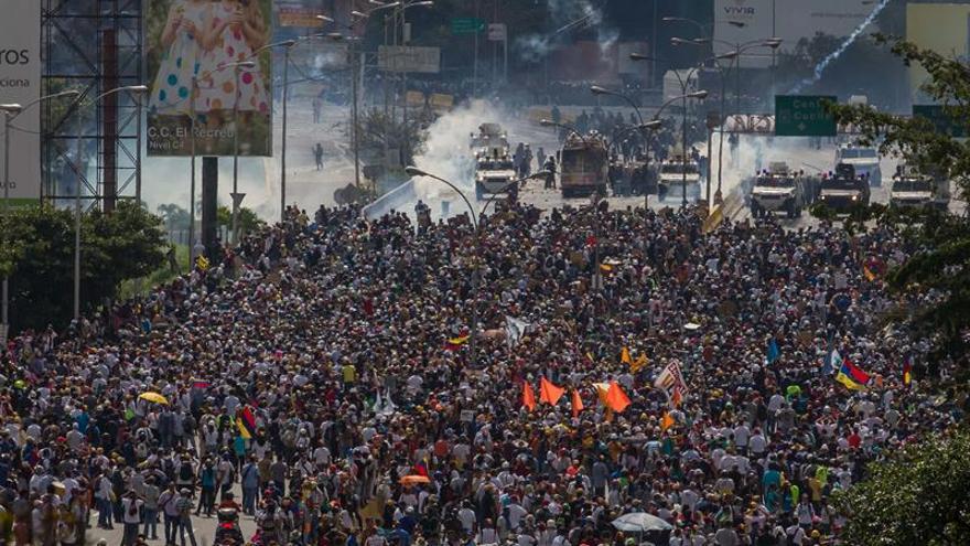 Una mujer muere tras recibir un disparo en una protesta en el oeste venezolano