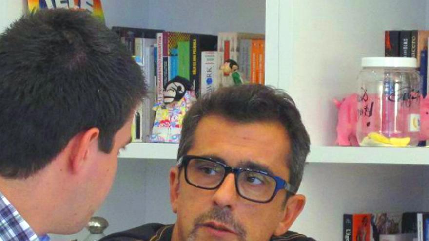 Andreu Buenafuente ha decidido apostar por la red social Bananity, capitaneada por Pau Garcia-Milà (Foto: Bananity)