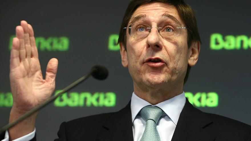 Goirigolzarri confía en que el Estado pueda recuperar las ayudas a Bankia en 2015