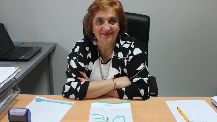 Carmen Terán, presidenta de la Asociación Montañesa de Ayuda al Toxicómano (AMAT) de Torrelavega.
