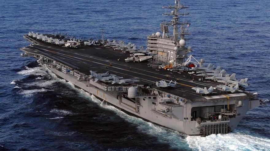 EE.UU. despliega otro portaaviones nuclear cerca de la península de Corea