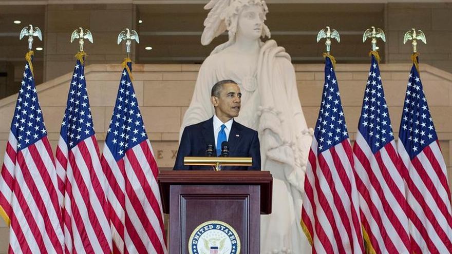 Obama cree que unas primarias reñidas son buenas para el Partido Demócrata
