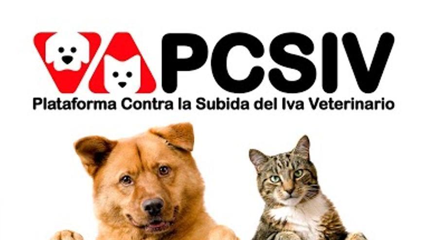 Campaña de la Plataforma Contra la Subida del IVA Veterinario