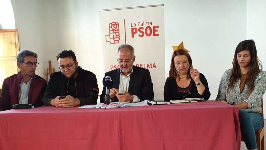 Comparencia del Grupo Municipal Socialista.