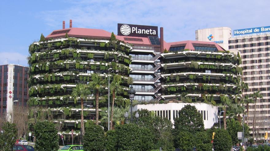 La antigua sede de Banca Catalana en la Diagonal de Barcelona, hoy propiedad de Planeta.