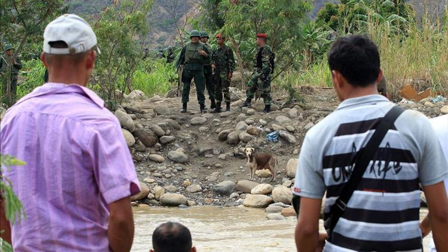 Habitantes de frontera colombiana denuncian incursión de soldados venezolanos