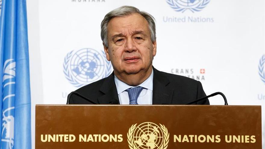 Guterres confía en que no haya una nueva escalada de tensión en Oriente Medio