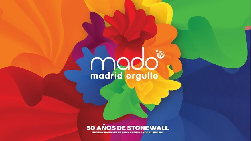 Cartel del Madrid Orgullo 2019   MADO