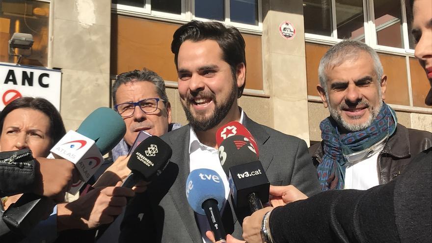 """Cs pide unidad a los socialistas en vez de poner """"vetos a Arrimadas"""""""