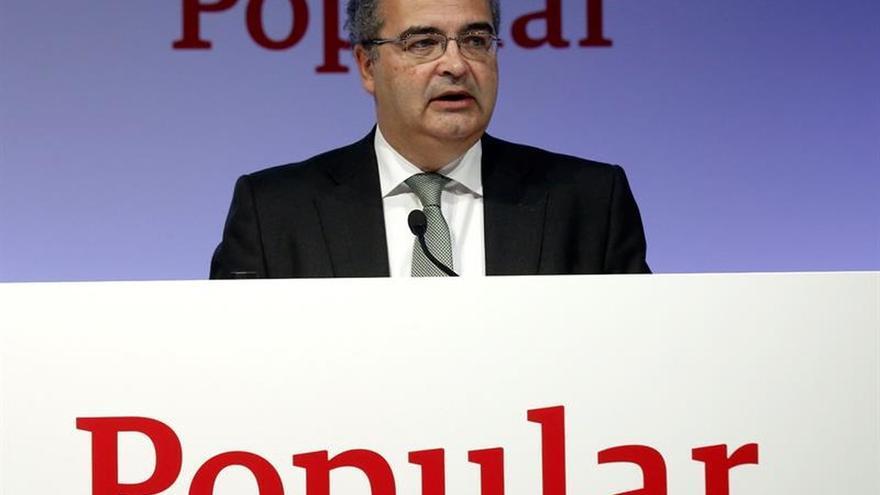 El Banco Popular confirma que hará un ajuste de 2.900 empleados y 300 oficinas