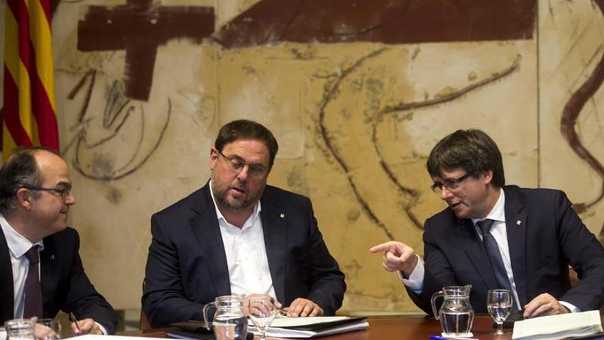 """Puigdemont llama al presidente kurdo para """"felicitarle"""" por el referéndum"""