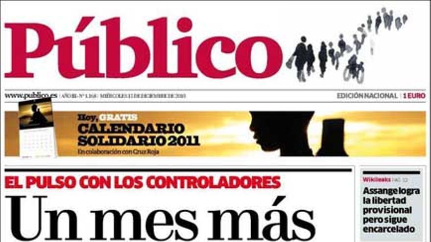 De las portadas del día (15/12/2010) #13