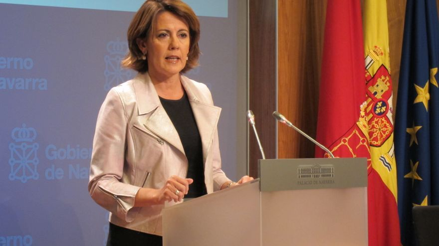 """La presidenta navarra ve """"necesario"""" que EH Bildu """"condene y pida la disolución de ETA"""""""