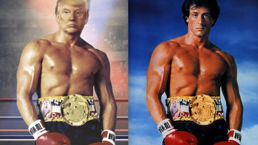 Trump Se Ve A Sí Mismo Como El Boxeador Rocky Balboa Y