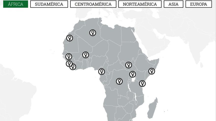 Captura del mapa 8 de marzo.