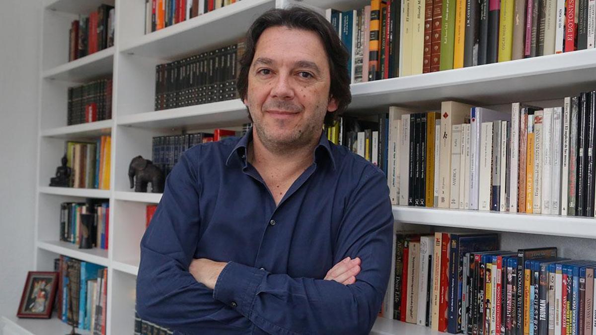El escritor y periodista Pablo M. Díez
