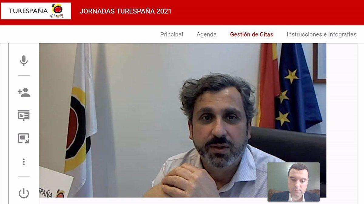 Reunión del Patronato Provincial de Turismo de Córdoba para analizar el impacto del Covid con mercados emisores de turistas.