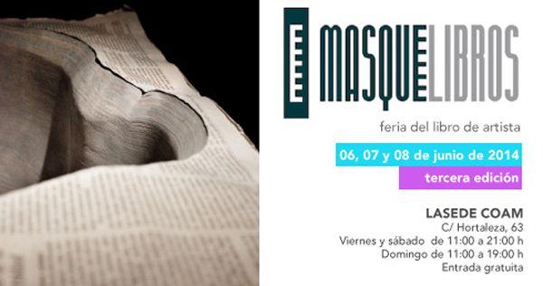 Masquelibros, Feria Internacional de Libros de Artista