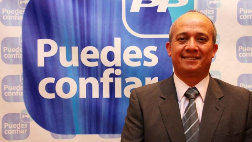 José Francisco Hernández, alcalde de Tías