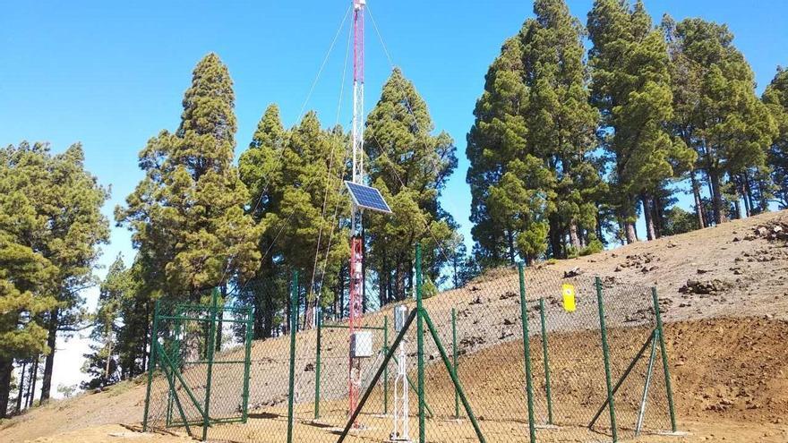 La Palma contará con ocho estaciones automáticas complementarias del sistema de observación meteorológica y estudio del cambio climático en Canarias