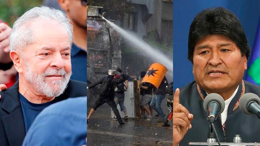Lula da Silva, protestas en Chile y Evo Morales
