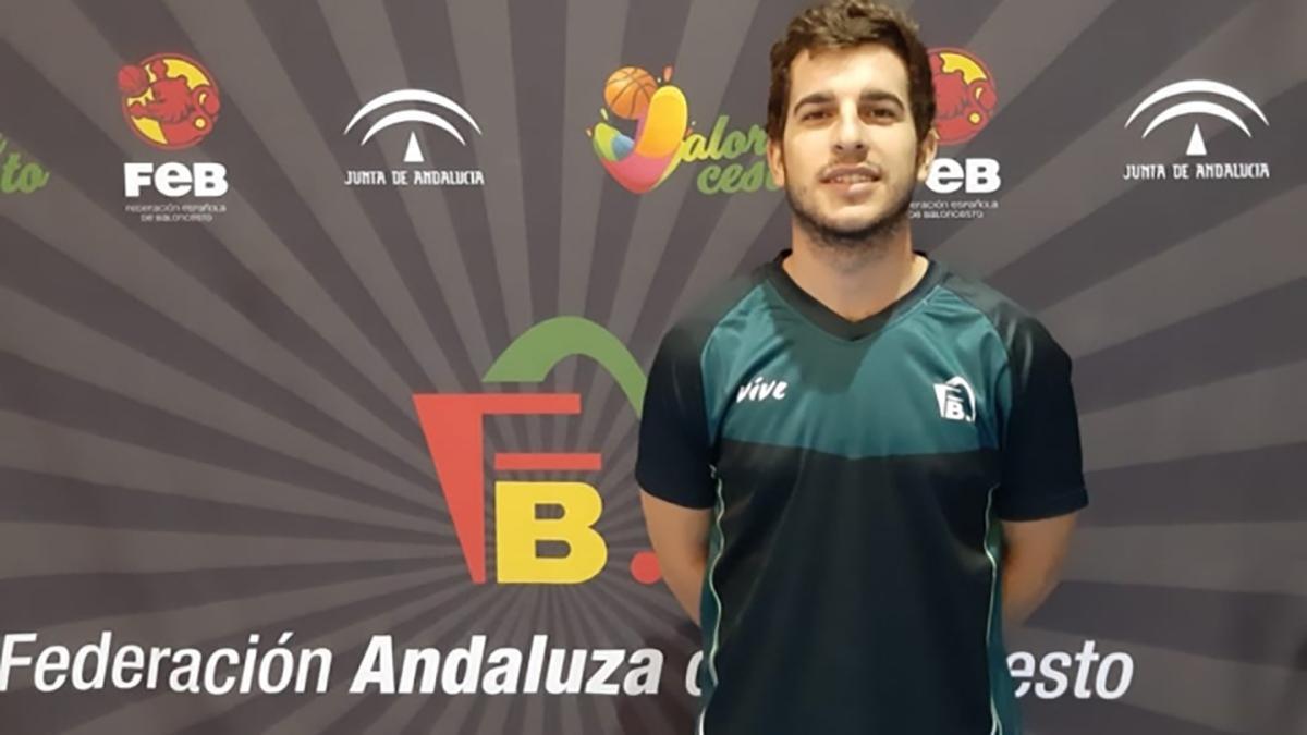 El árbitro cordobés Javier Ávila.