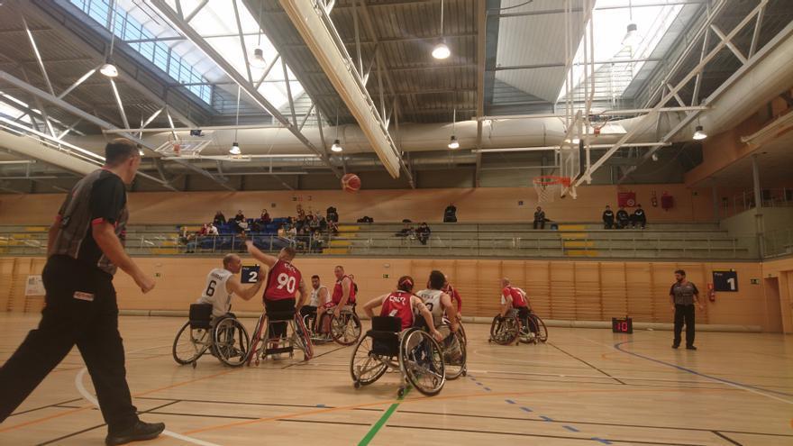 Basket en silla de ruedas: Derrota ante el líder