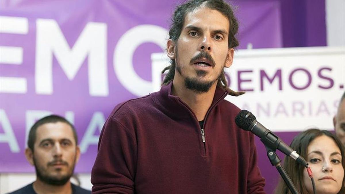 Alberto Rodríguez, diputado y secretario de Organización de Podemos