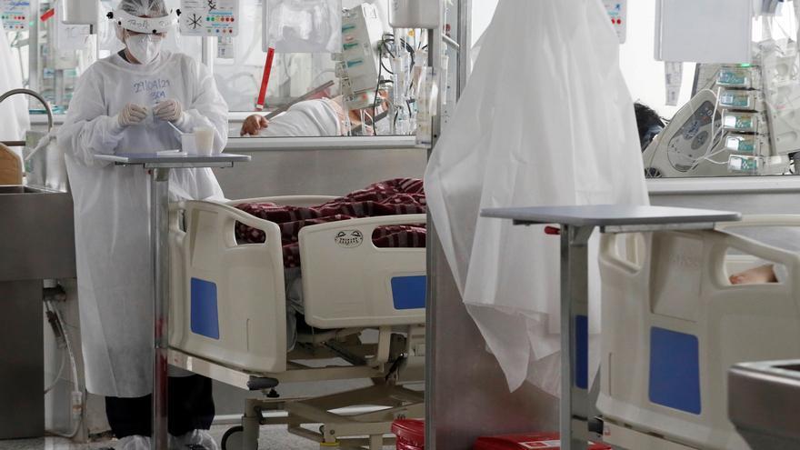 Colombia reporta 577 muertes por covid-19, nuevo récord de decesos